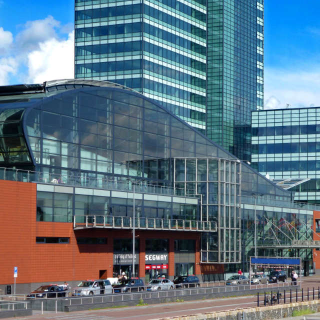 PTA - Passenger Terminal Amsterdam - voorgevel